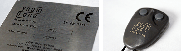 Examples of our Laser Marking